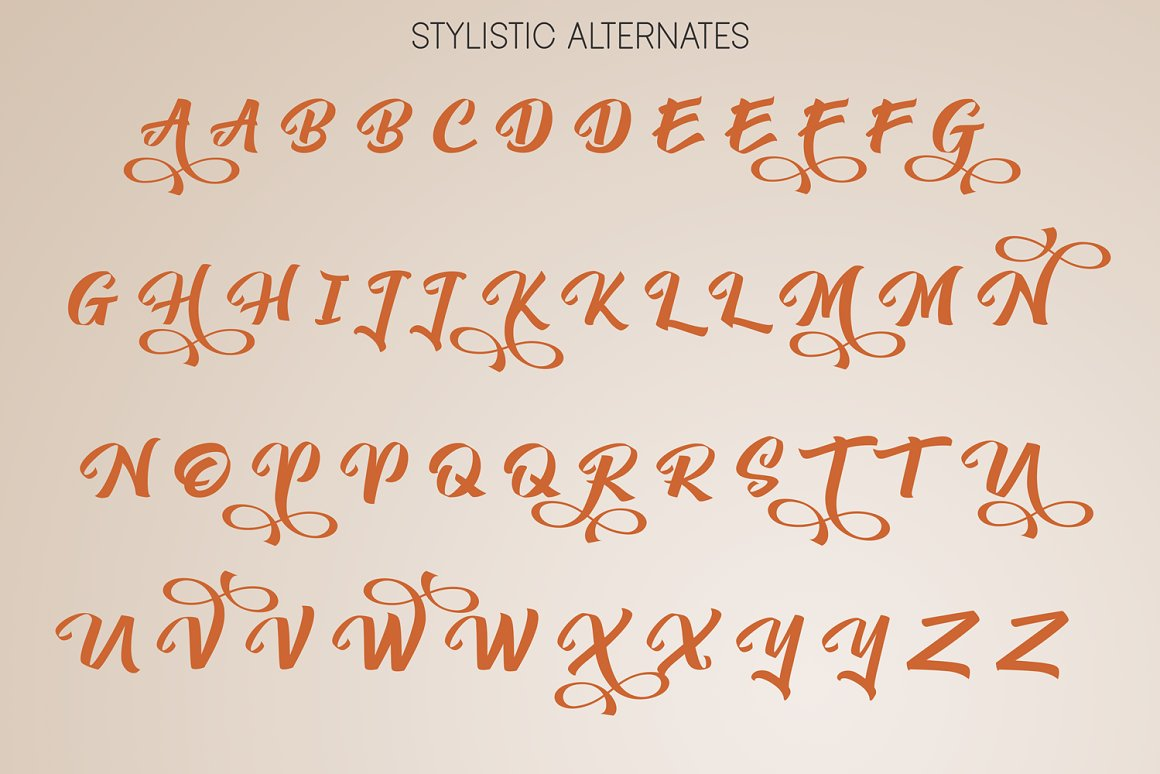 Yambag Modern Script Font-3