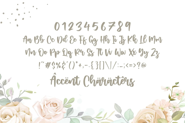 Zambrota Lovely Modern Handwritten Font-3