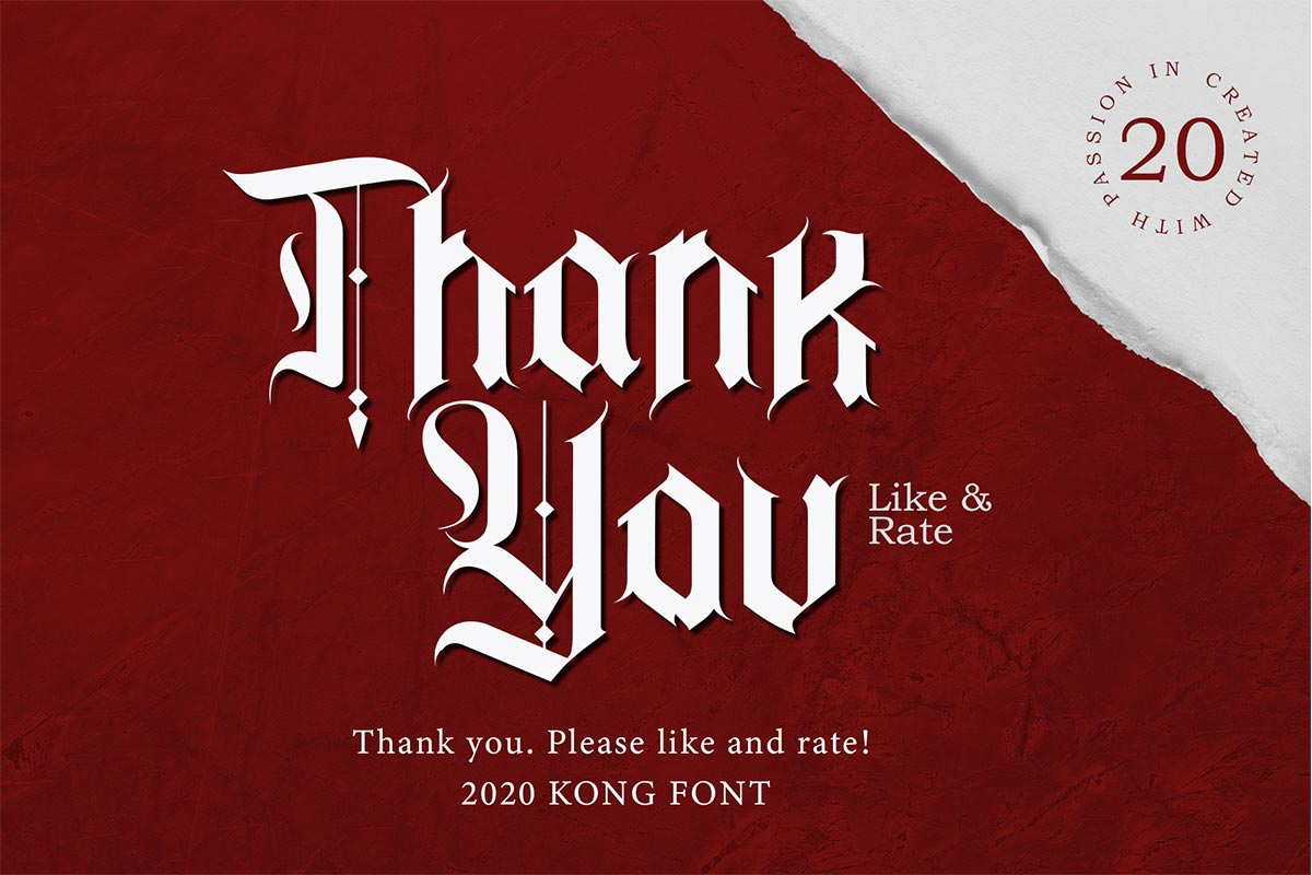 Zepplines Blackletter Typeface-2