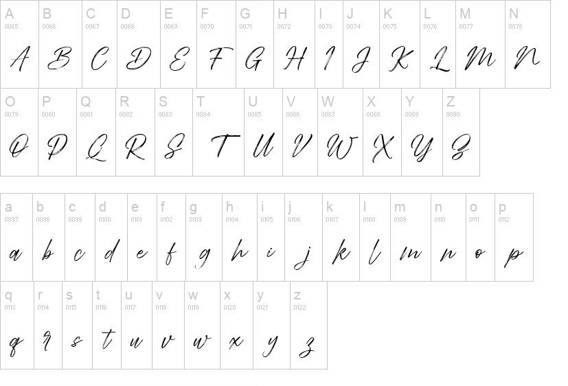 Abdillah Dry Brush Script Font-3