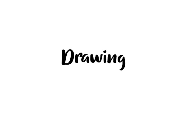 Drawing Handwritten Font