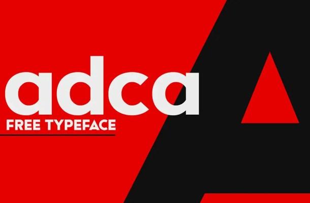 Adca Sans Serif Typeface