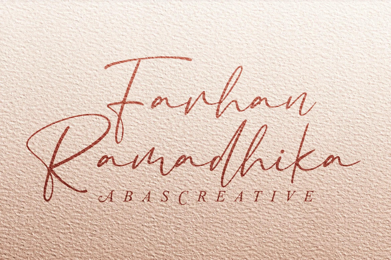 Bacalisties Handwritten Script Font-2