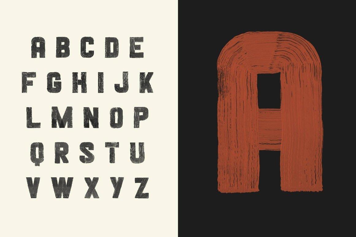 Blackshore Hand Painted SVG Display Font-3