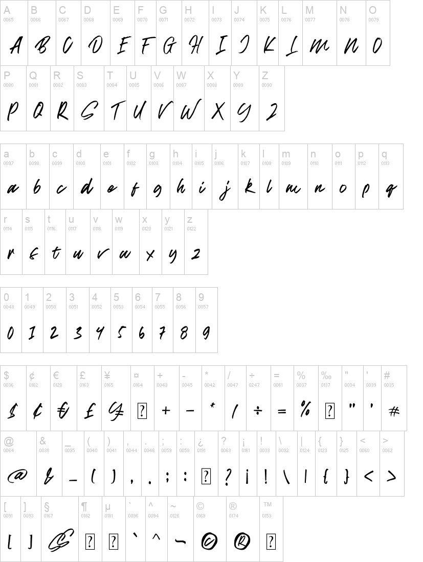 Break Dust Script Brush Font-3