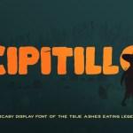 Cipitillo Horror Fancy Font