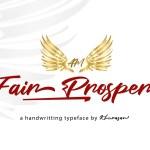 Fair Prosper Handwritten Typeface