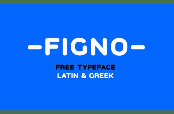 Figno Sans Serif Font