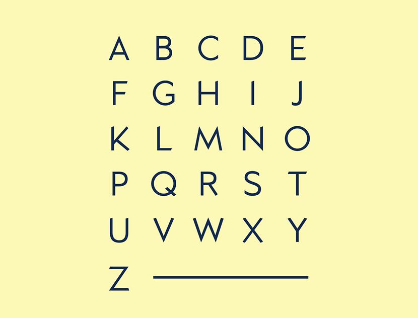 Kano Geometric Typeface-4