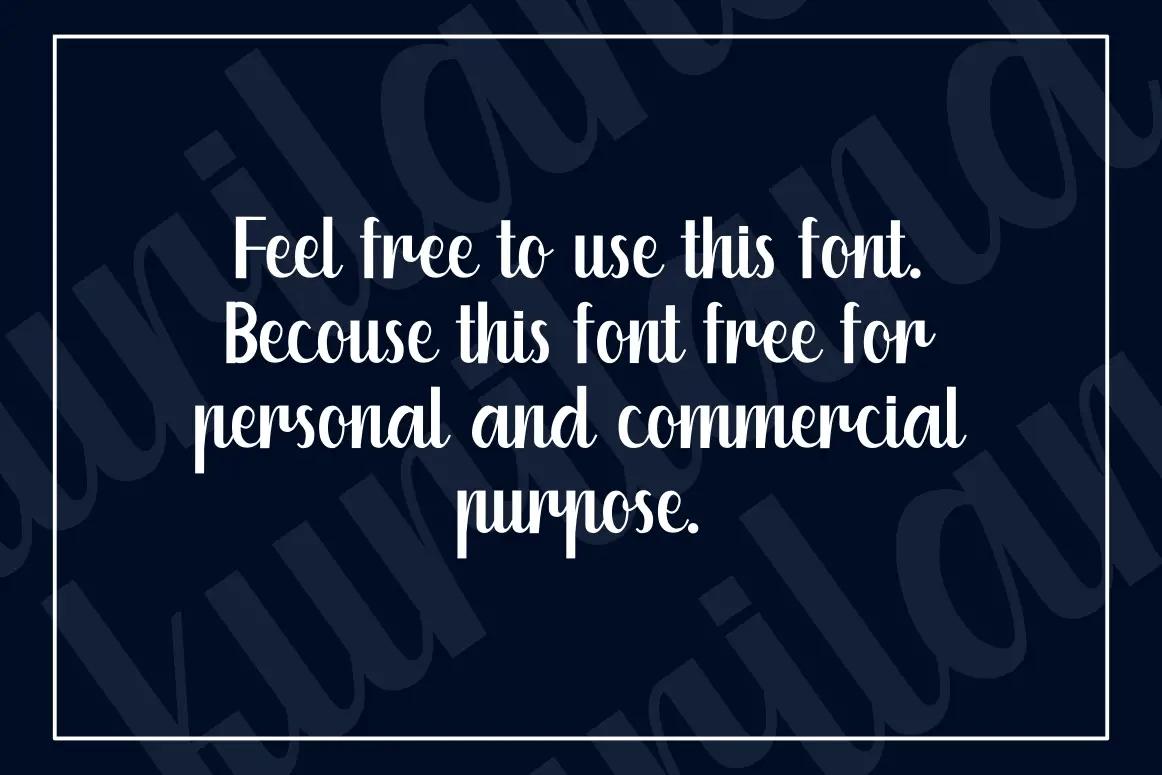 Kuriland Fancy Font-2