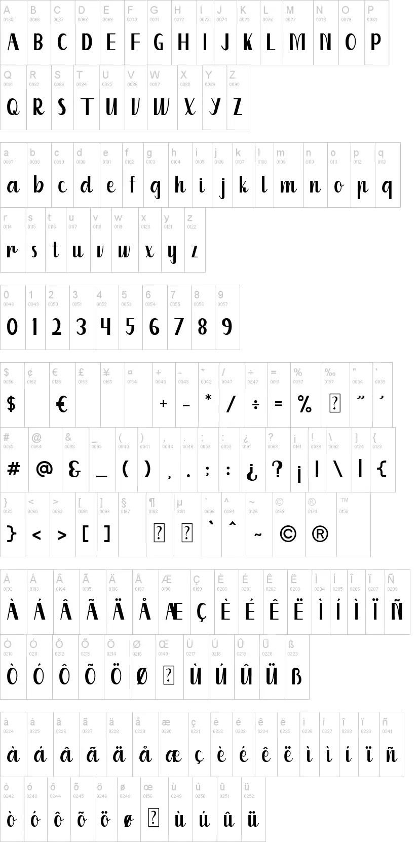 Kuriland Fancy Font-3