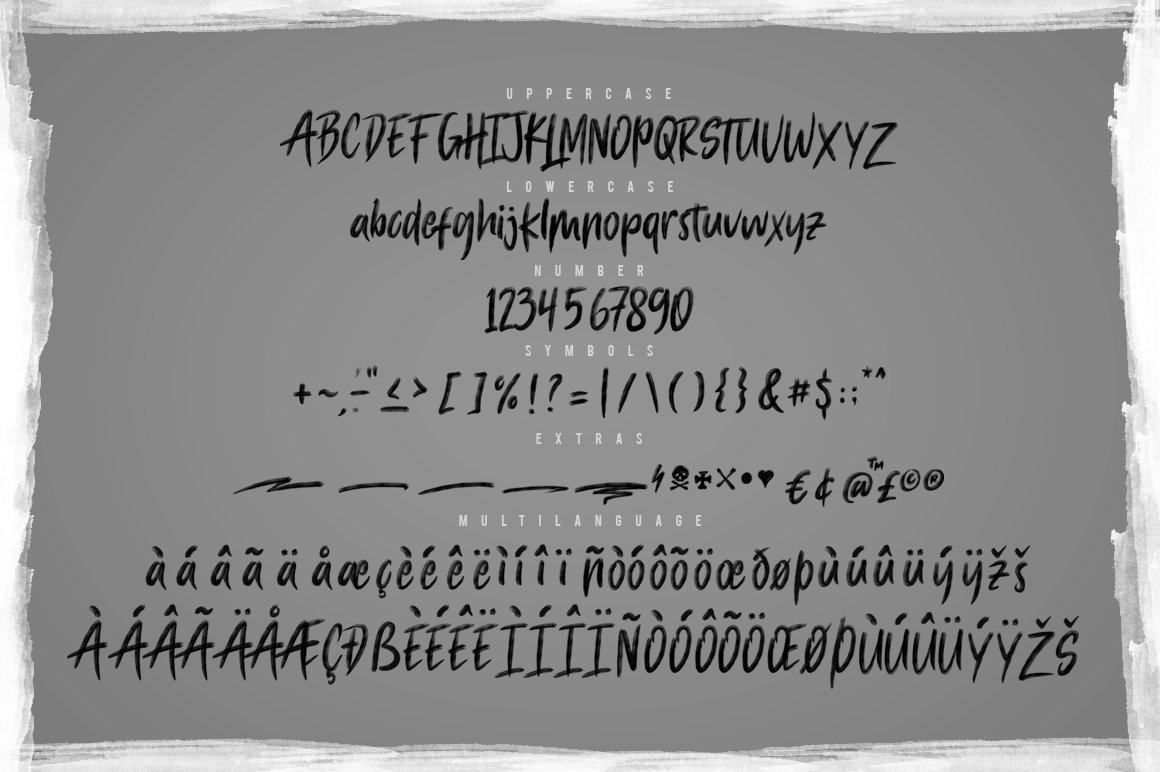Macbeth OpenType SVG Script Brush Font-3