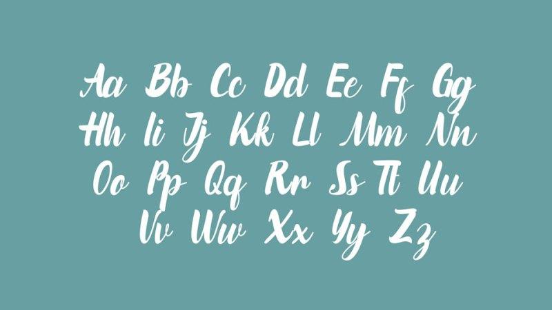 Marinto Various Script Font-2