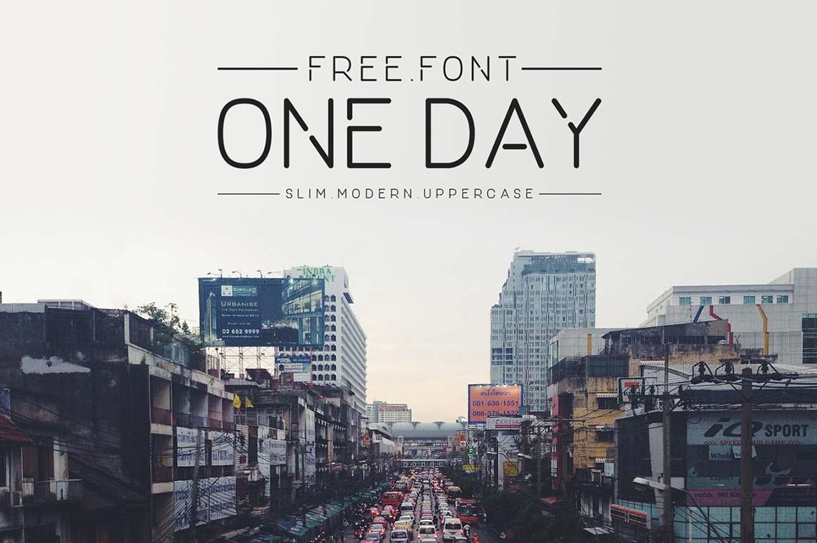 One Day Sans Serif Font-1