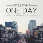 One Day Sans Serif Font
