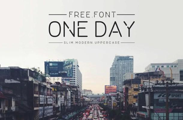 One Day Sans Serif Font