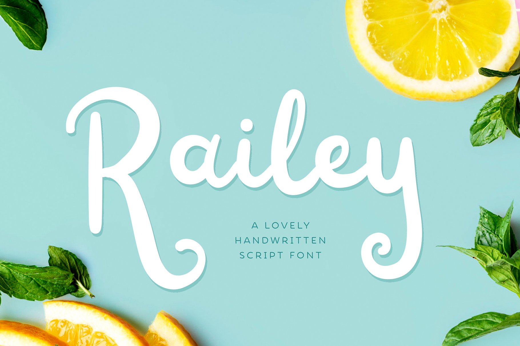Railey Script Handwritten Font-1