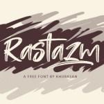 Rastazm Script Font