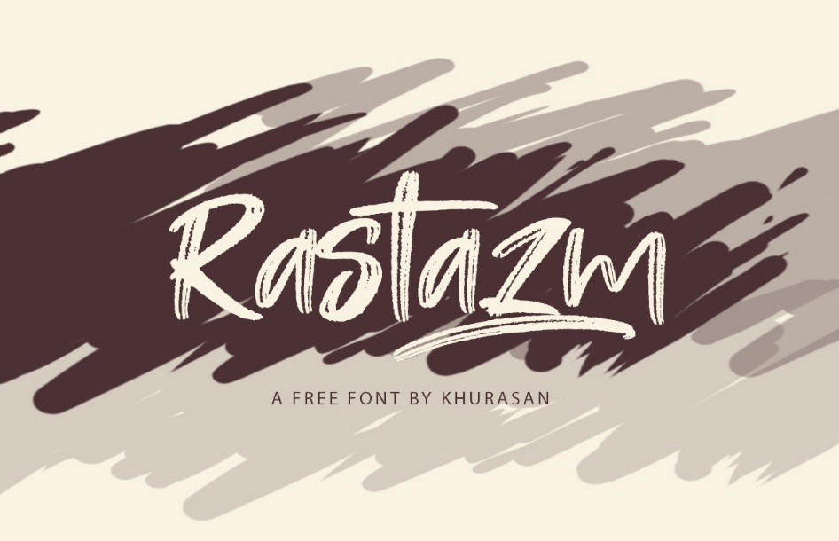 Rastazm Script Font-2