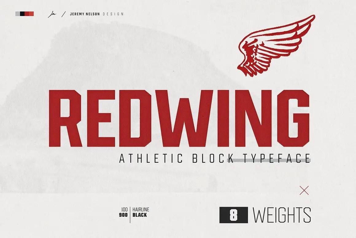 Redwing Sans Serif Typeface-1