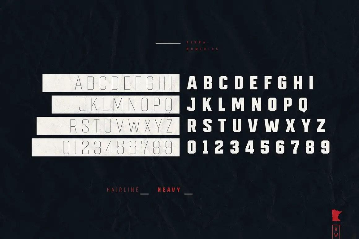 Redwing Sans Serif Typeface-3