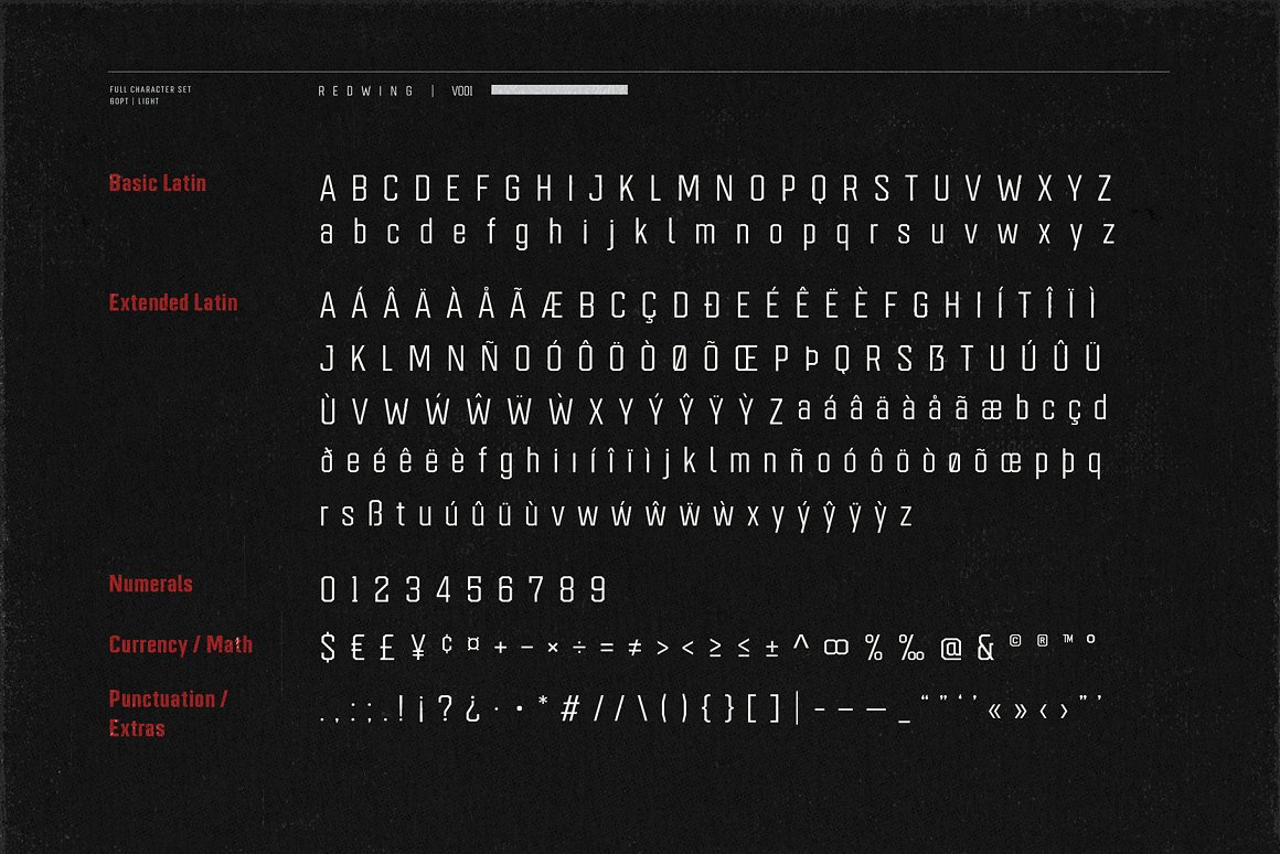 Redwing Sans Serif Typeface-4