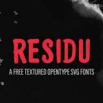 Residu Brush Script Font
