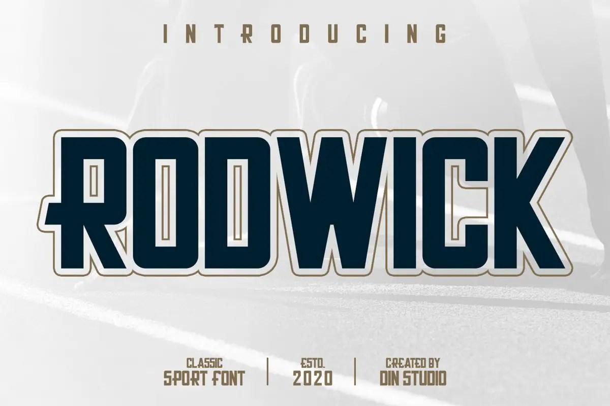 Rodwick-Sport-Display-Font