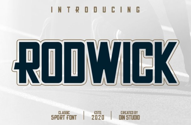 Rodwick Sport Display Font