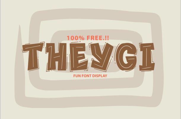 Theygi Display Font