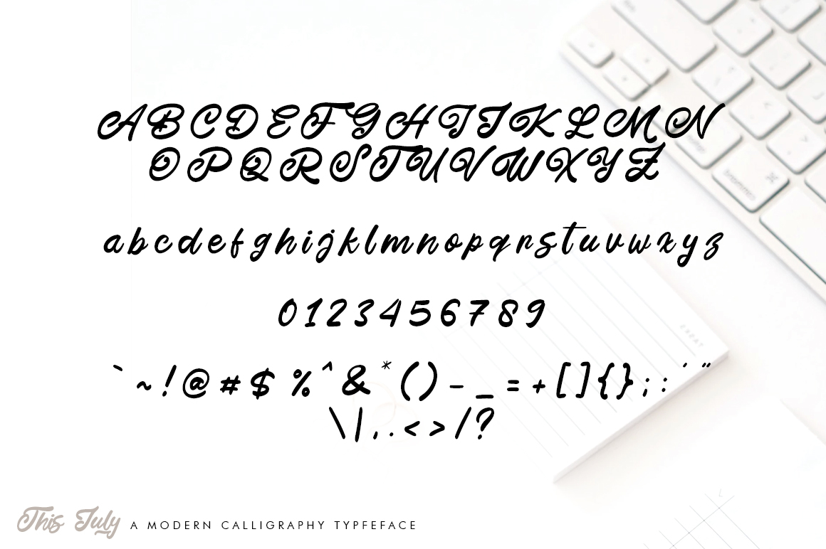 This July Script Handwritten Font-3