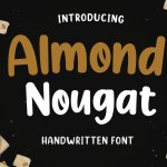 Almond Nougat Fancy Font