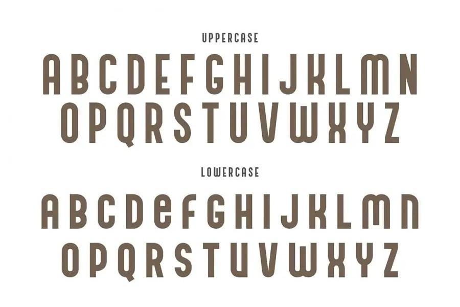 Andreas Condensed Sans Serif Font-2