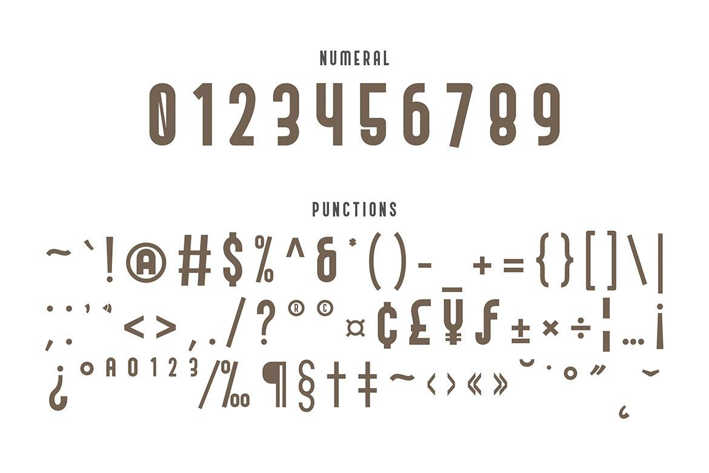 Andreas Condensed Sans Serif Font-3