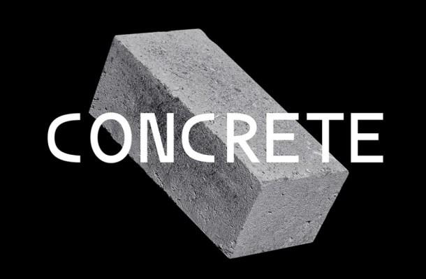 Concrete Sans Serif Font