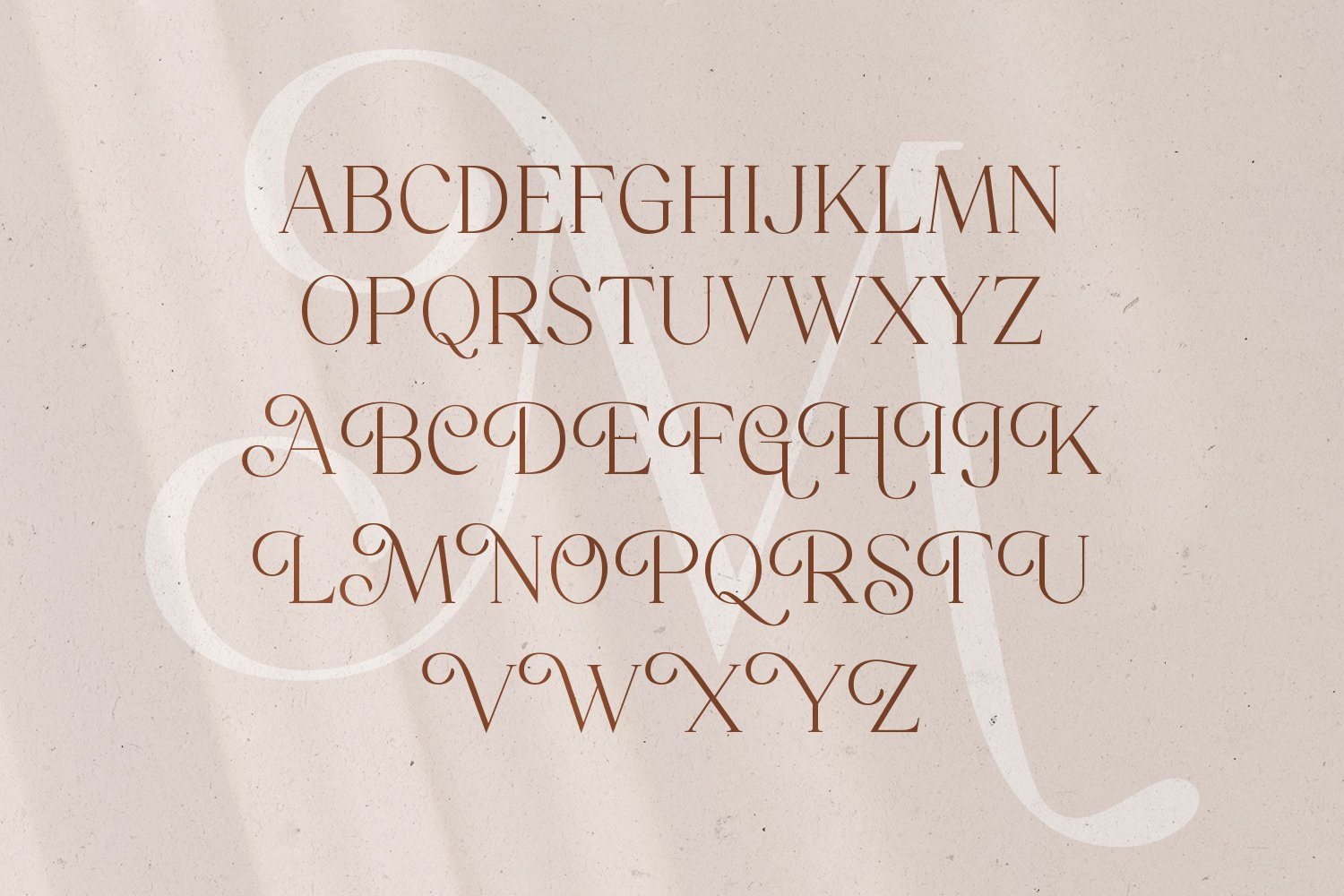 Mitchaella Unique Luxury Serif Typeface-2