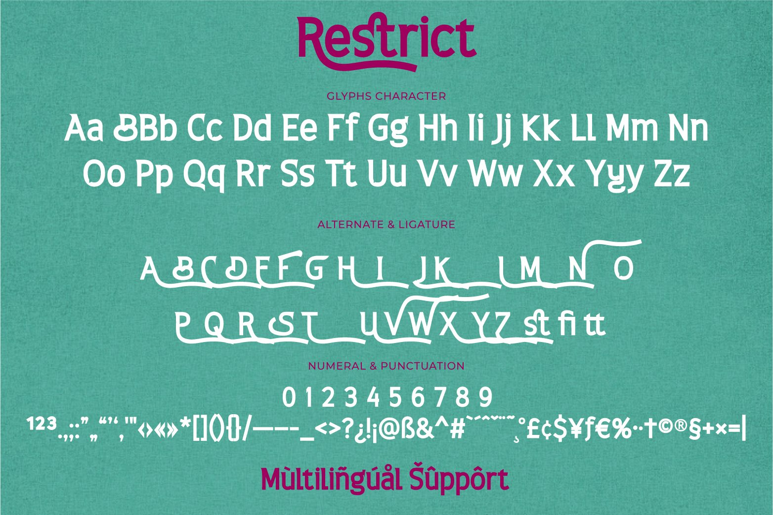 Restrict Display Sans Font-3