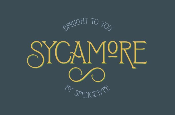 Sycamore Display Font