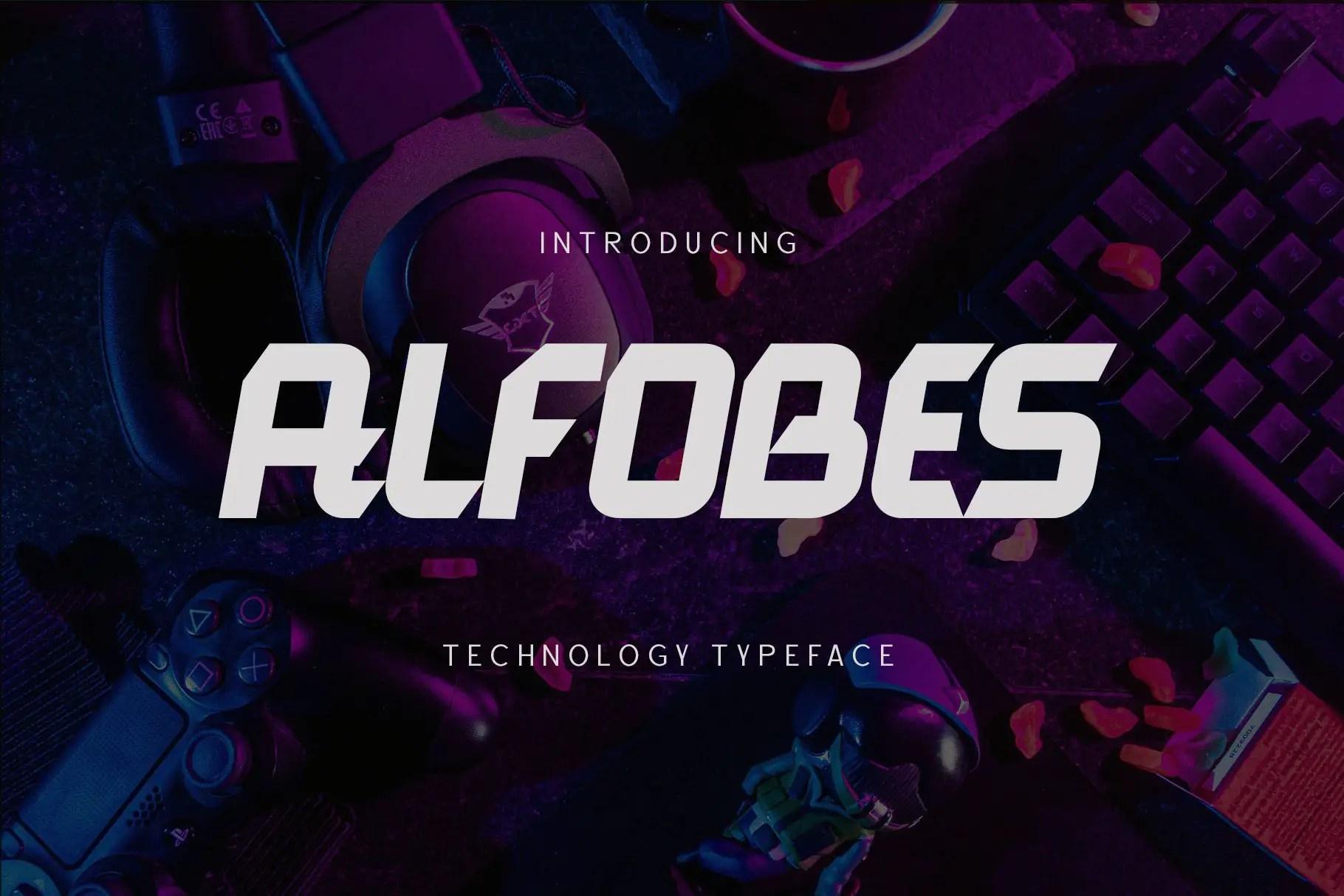 AlfobesDisplay Typeface-1