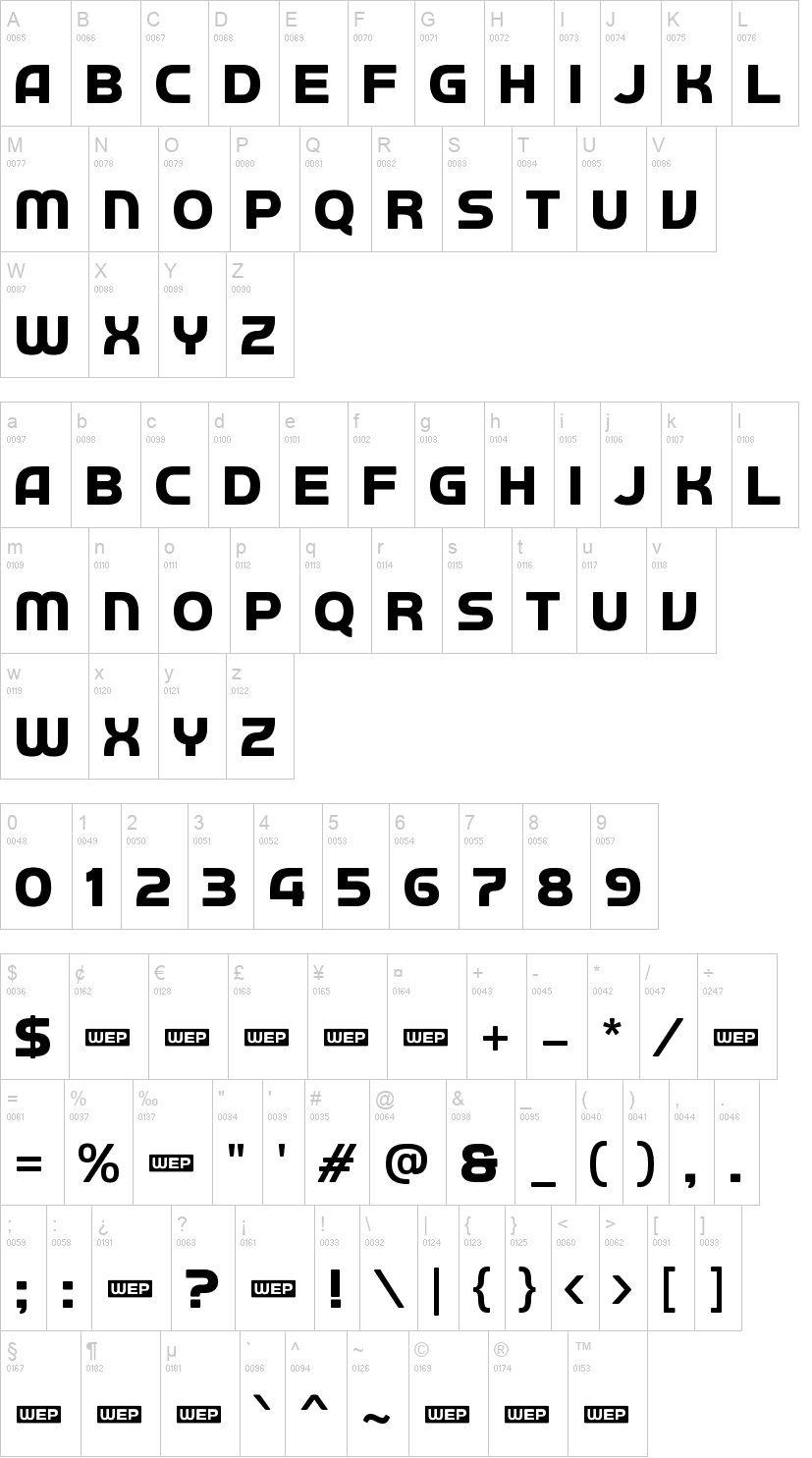 Autobus Omnibus Sans Serif Font-2