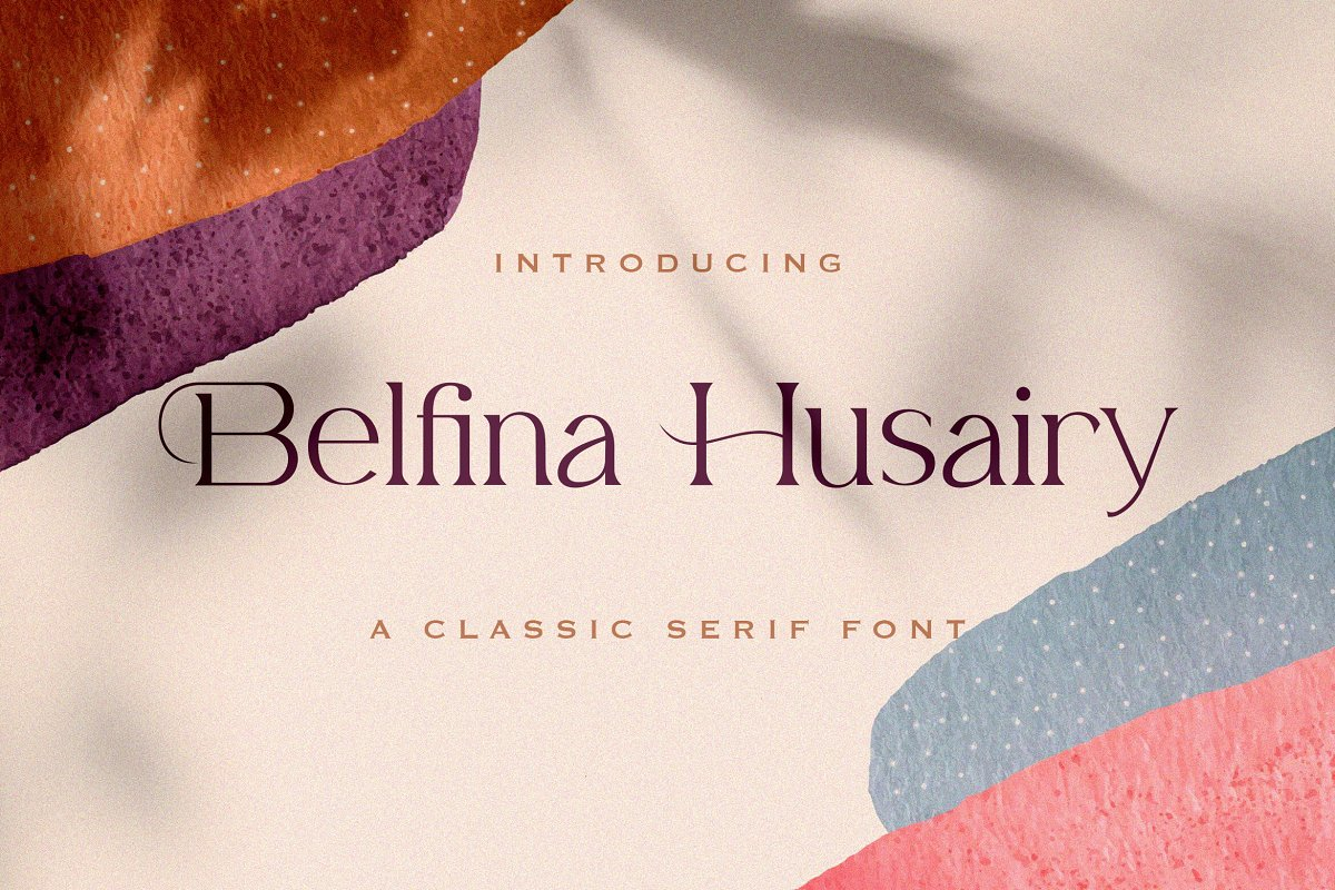 Belfina Husairy Classic Serif Font-1