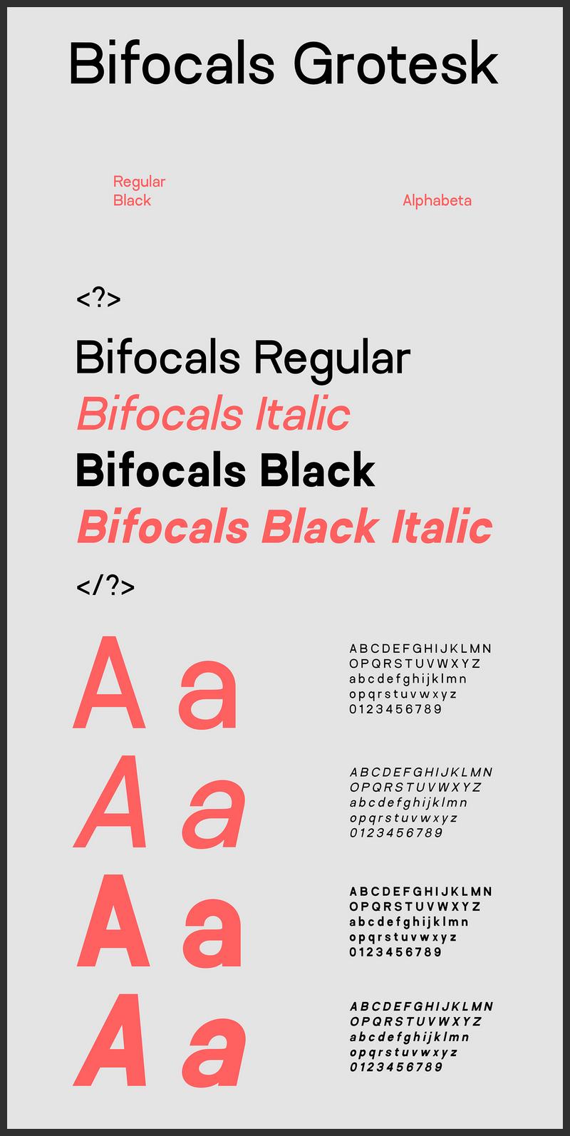 Bifocals Grotesk Font Free-
