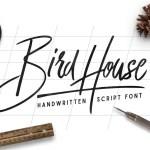 Bird House Font