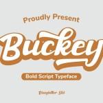 Buckey Typeface