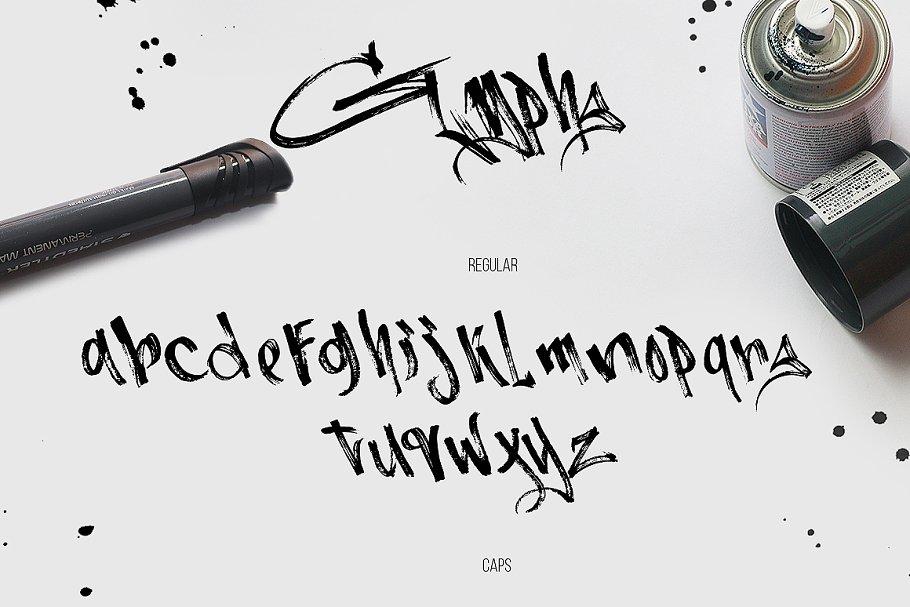Burnts Marker Script Brush Typeface-3