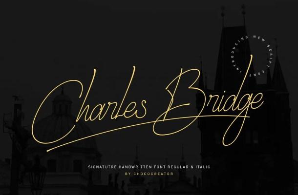 Charles Bridge Font