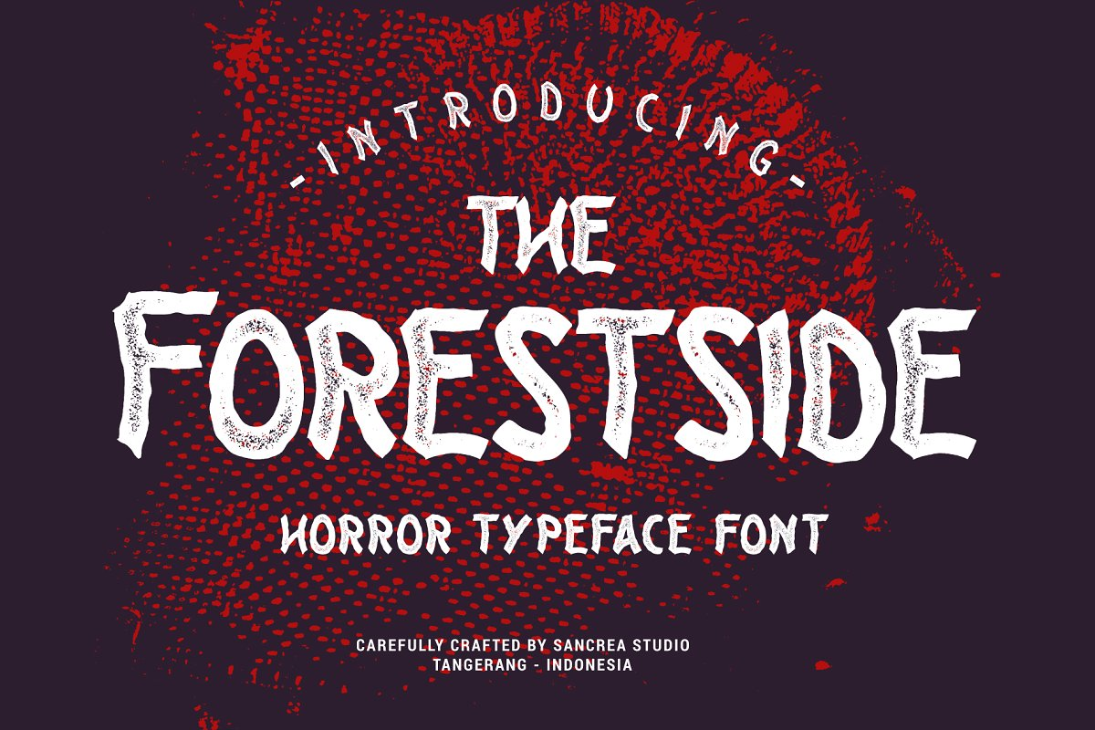 Forestside Display Typeface-1