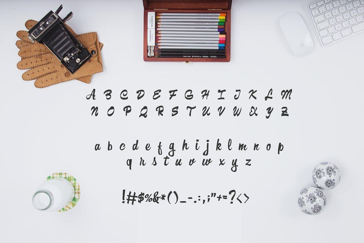Formia Script Brush Font-3