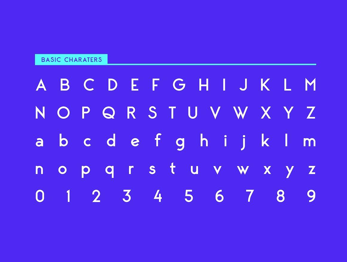 George Sans Geometric Typeface-2