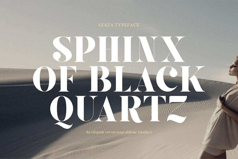 Giaza Serif Typeface-2
